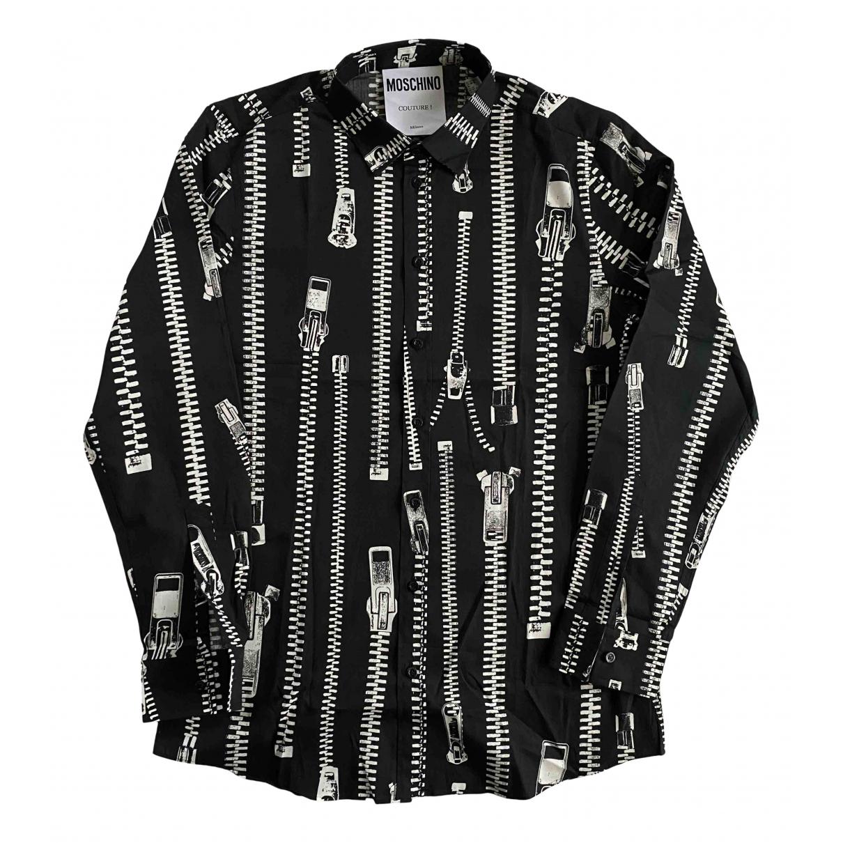 Moschino - Chemises   pour homme en coton - noir