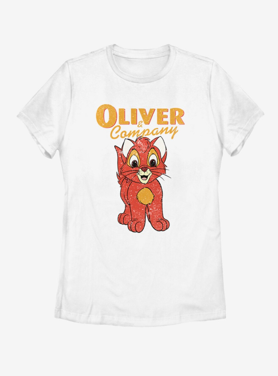 Disney Oliver & Company Womens T-Shirt
