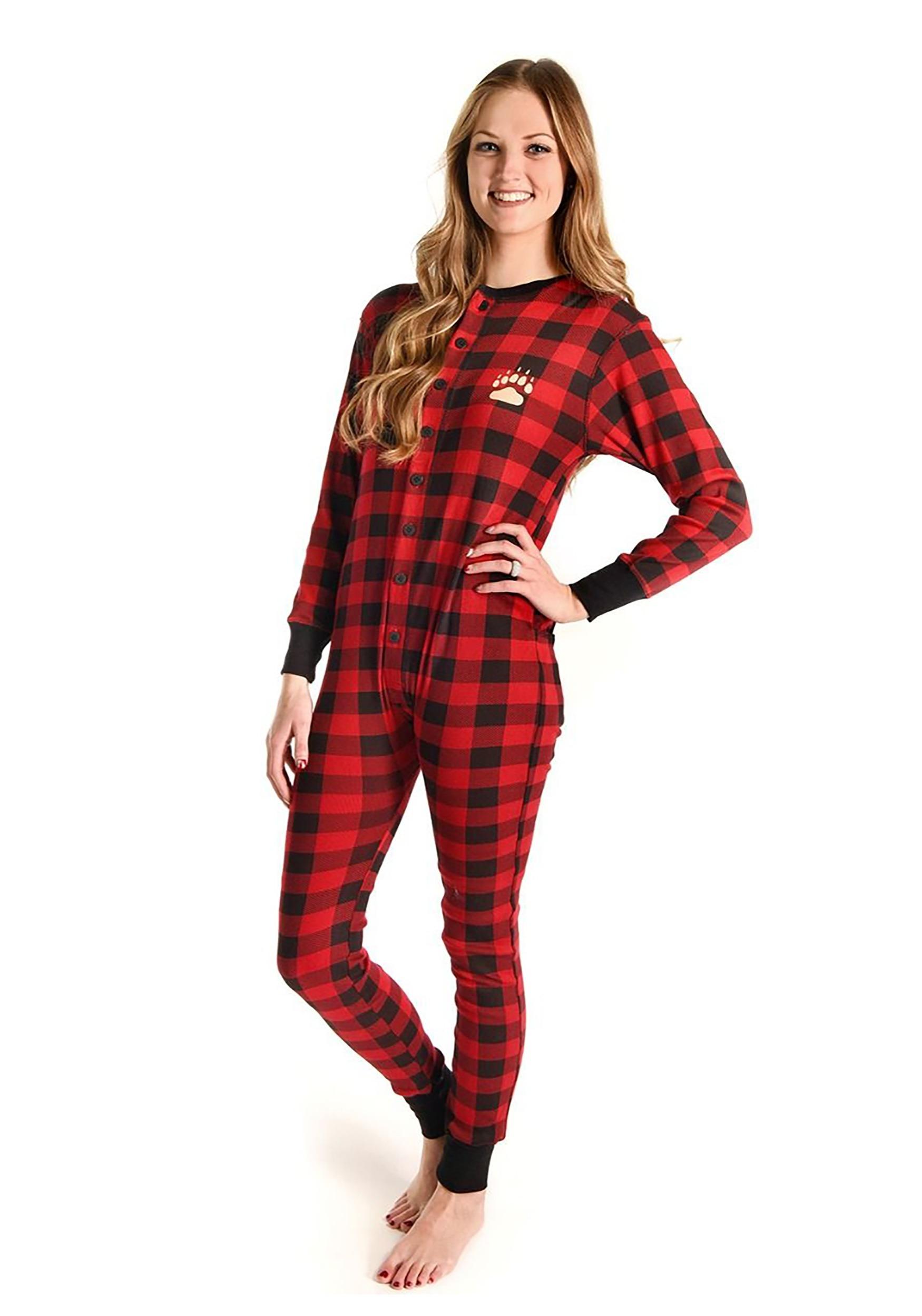 Bear Cheeks Flapjack Adult Pajamas