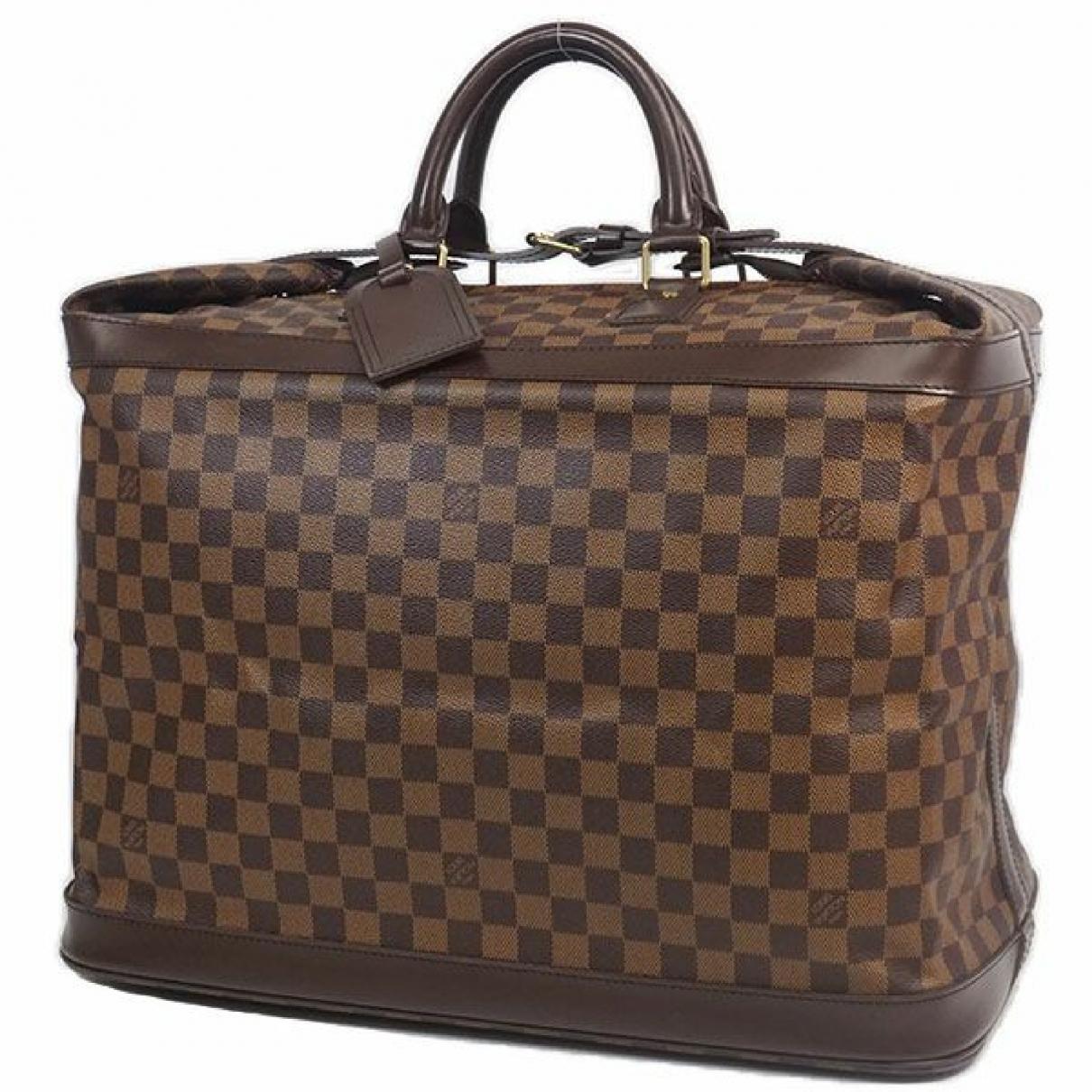 Louis Vuitton \N White Cloth Travel bag for Women \N