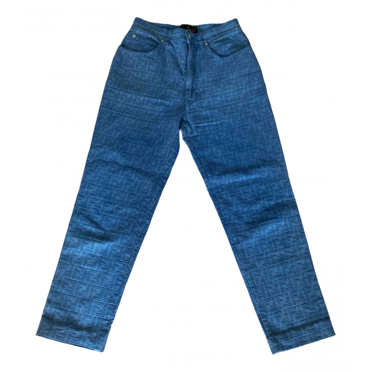 Fendi \N Cotton Jeans for Women 29 US