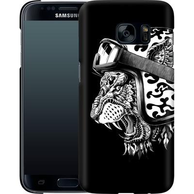 Samsung Galaxy S7 Smartphone Huelle - Tiger Helm von BIOWORKZ