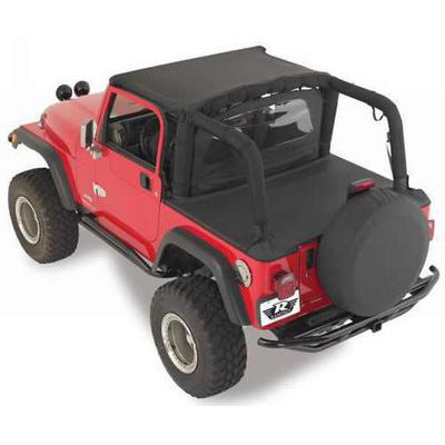 Rampage Jeep Tonneau Cover (Black Denim) - 721015