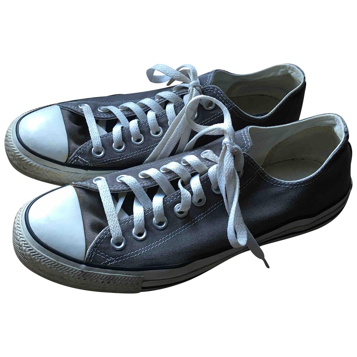 Converse - Baskets   pour homme en toile - gris