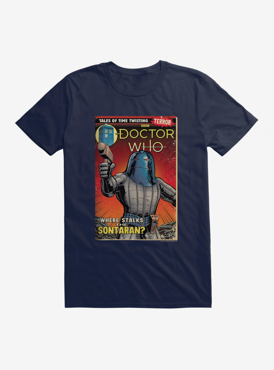 Doctor Who The Sontaran Comic T-Shirt