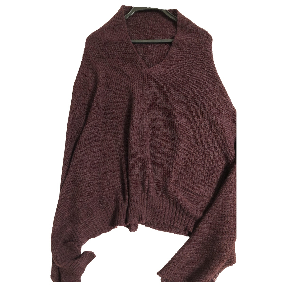 45rpm \N Burgundy Wool  top for Women One Size 0-5