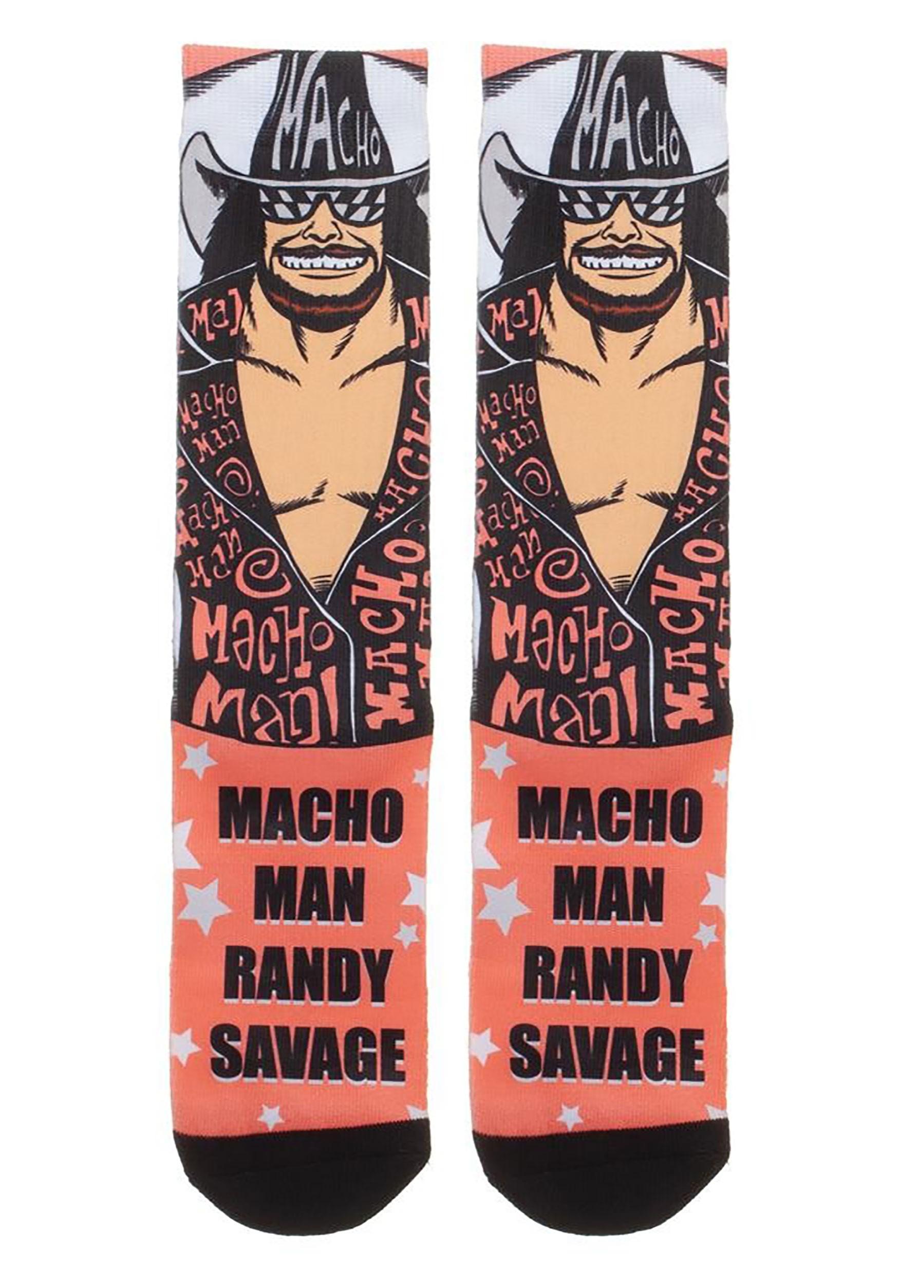 Randy Savage WWE Sublimated Socks