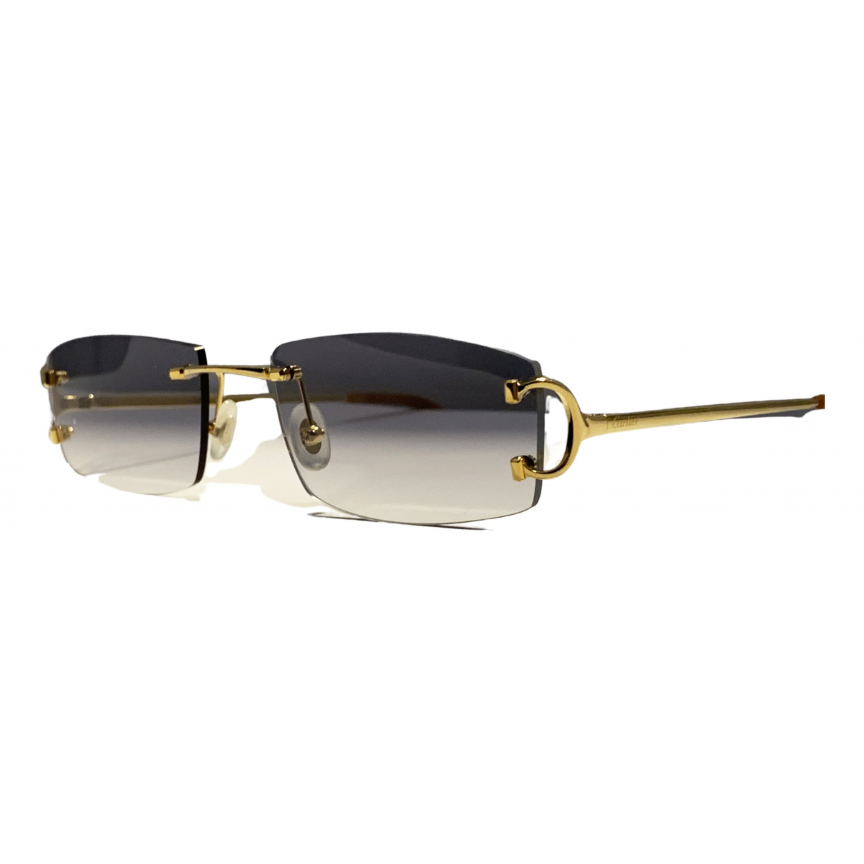 Cartier \N Gold Metal Sunglasses for Women \N