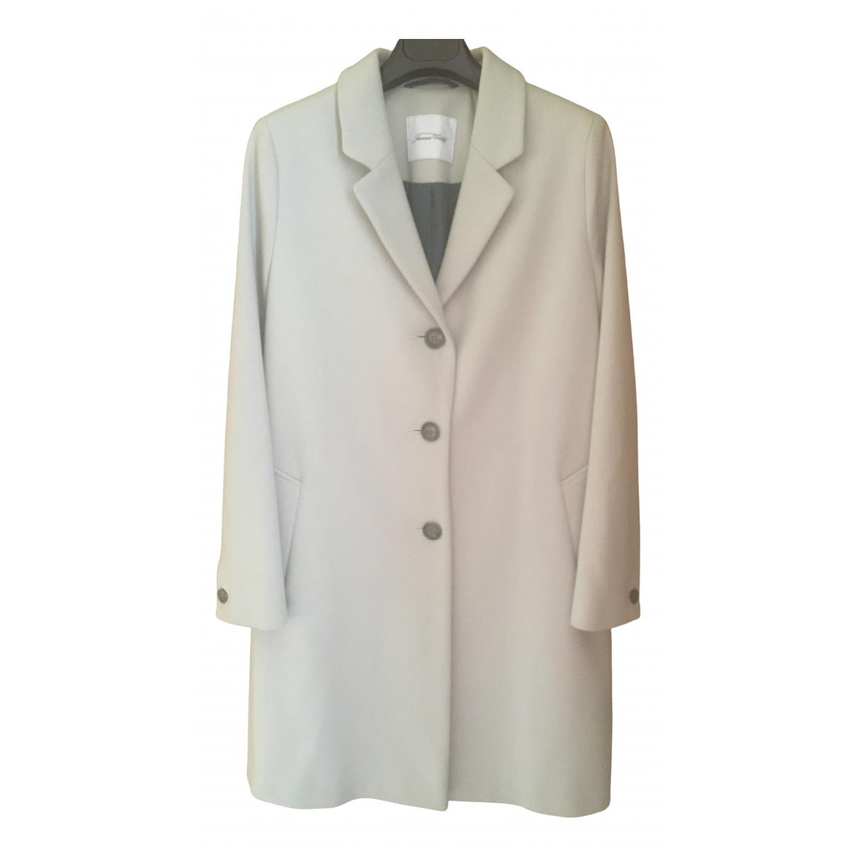 American Vintage - Manteau   pour femme en laine - gris