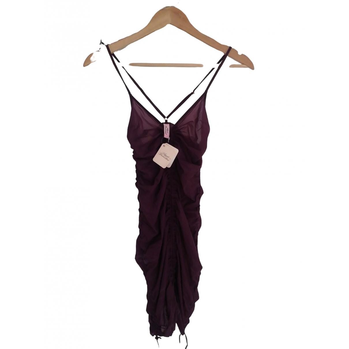 Agent Provocateur \N Burgundy Silk Swimwear for Women 34 FR