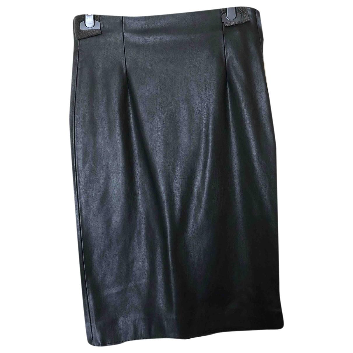 Zara \N Black Leather skirt for Women S International
