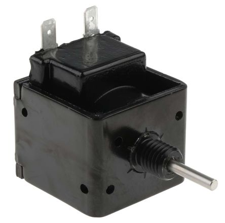 Mecalectro Push Pull Action DC D-Frame Solenoid, 15mm stroke, 16W, 24 V dc