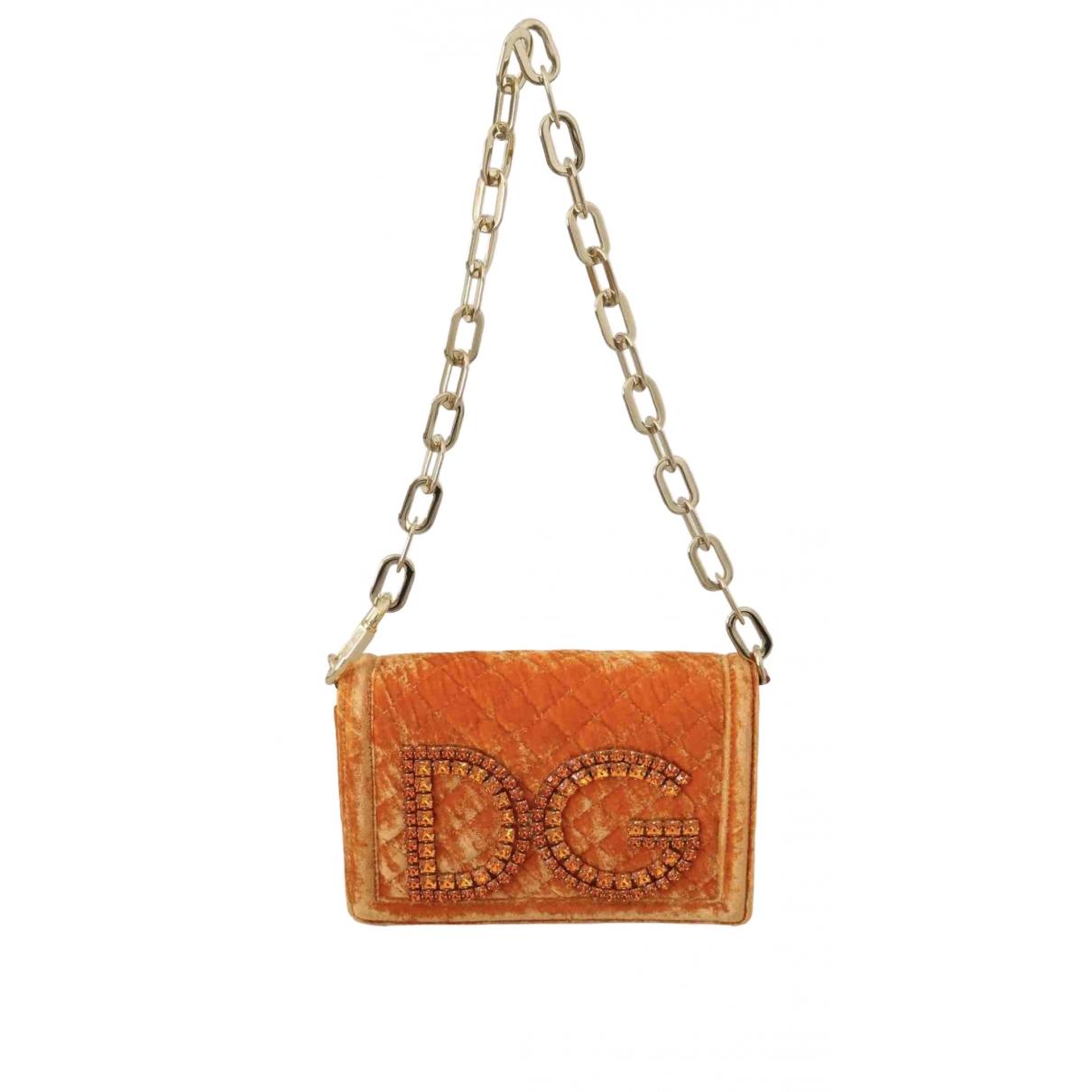 Pochette DG Girls de Terciopelo Dolce & Gabbana