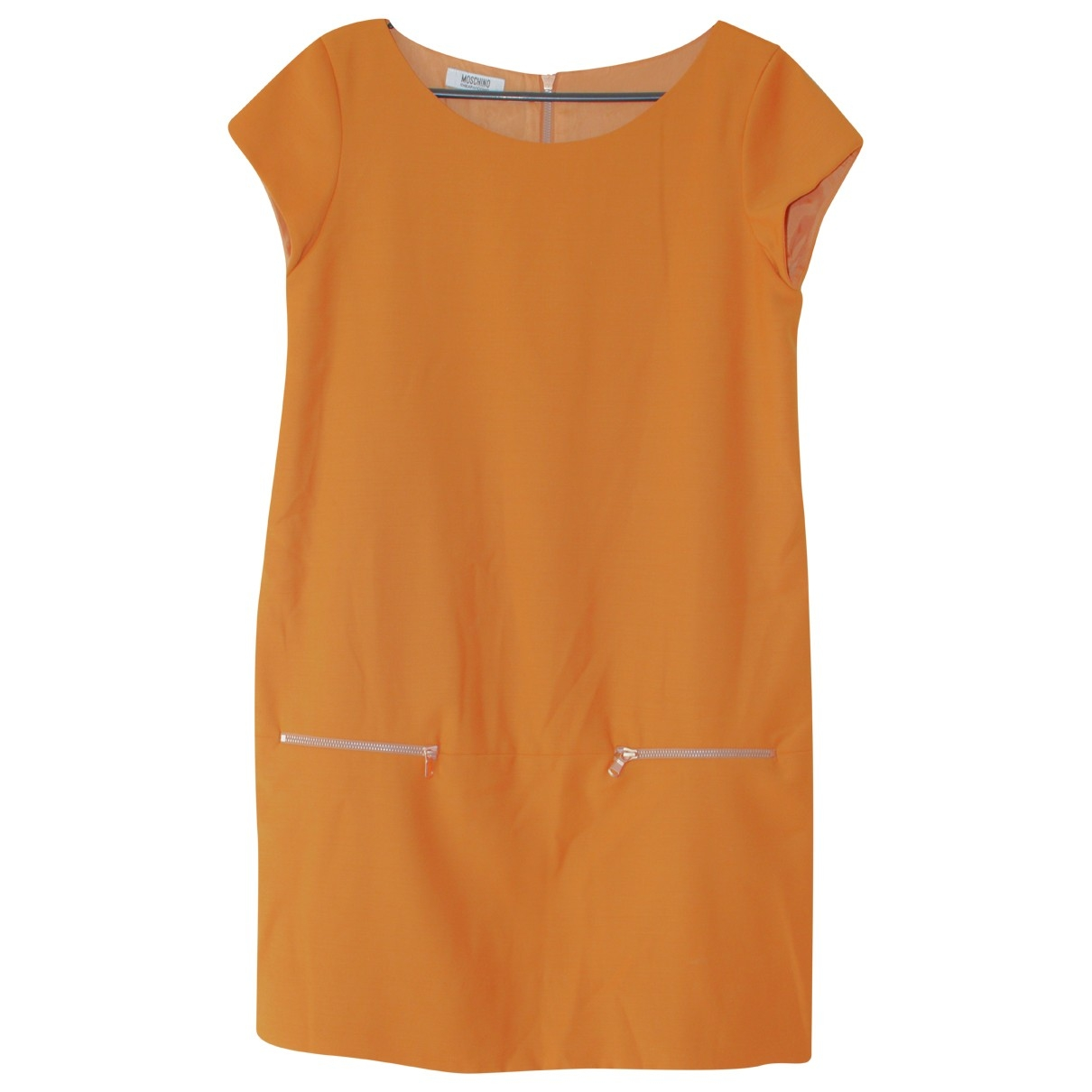 Moschino Cheap And Chic - Robe   pour femme en laine - orange