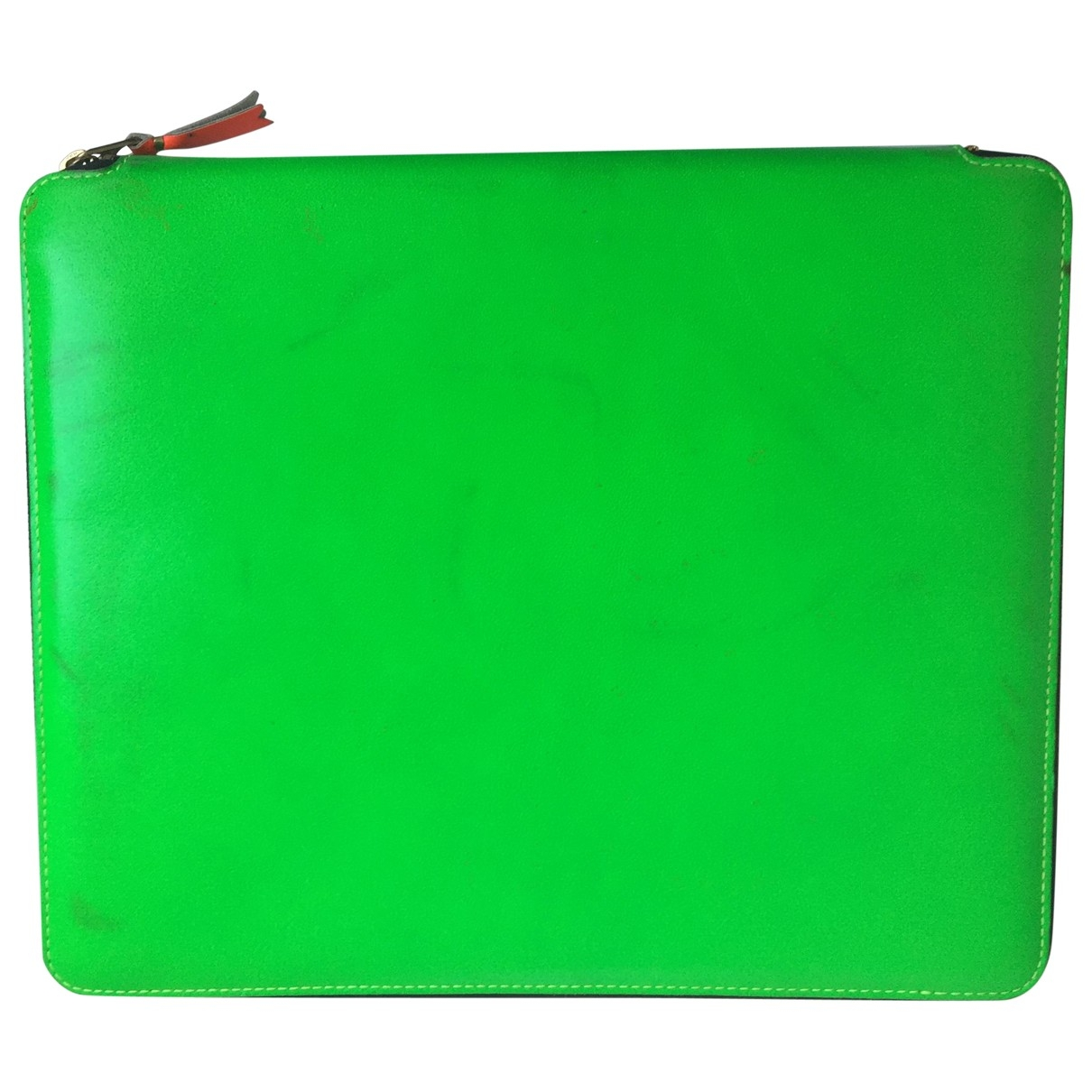 Comme Des Garcons \N Green Leather Purses, wallet & cases for Women \N