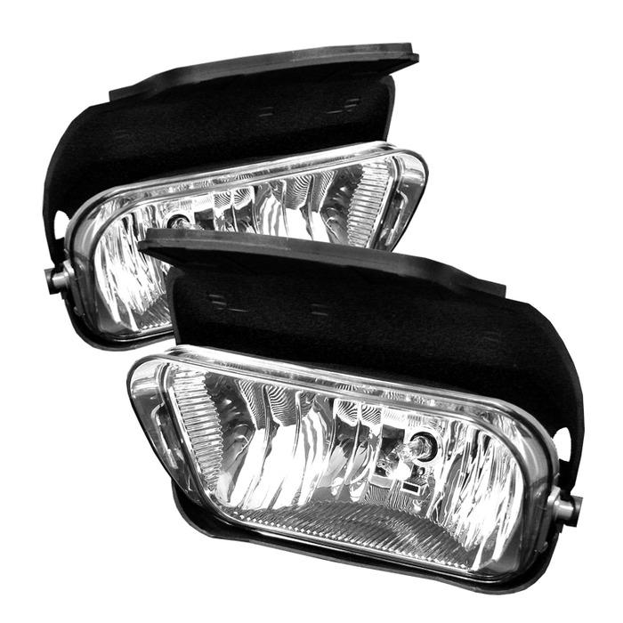 Spyder Auto FL-OEM-CS03-C Clear Fog Lights Chevrolet Silverado 2500 03-05