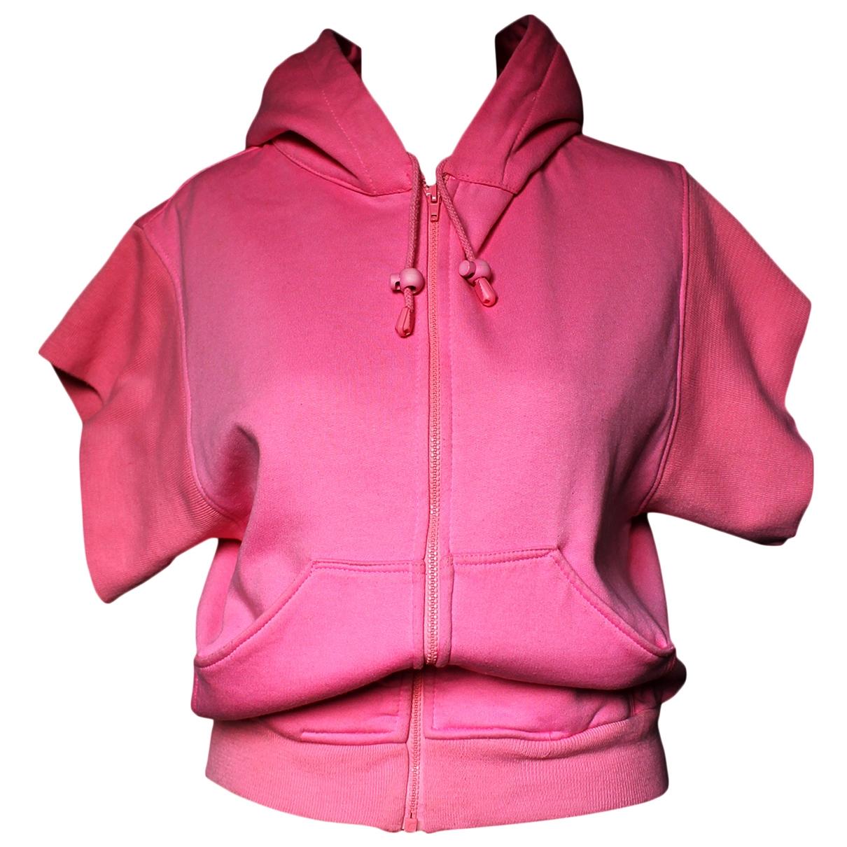 Jeremy Scott - Pull   pour femme en coton - rose