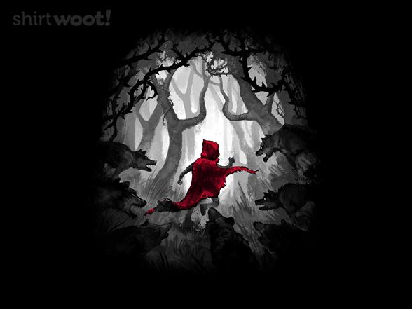 Running Red T Shirt