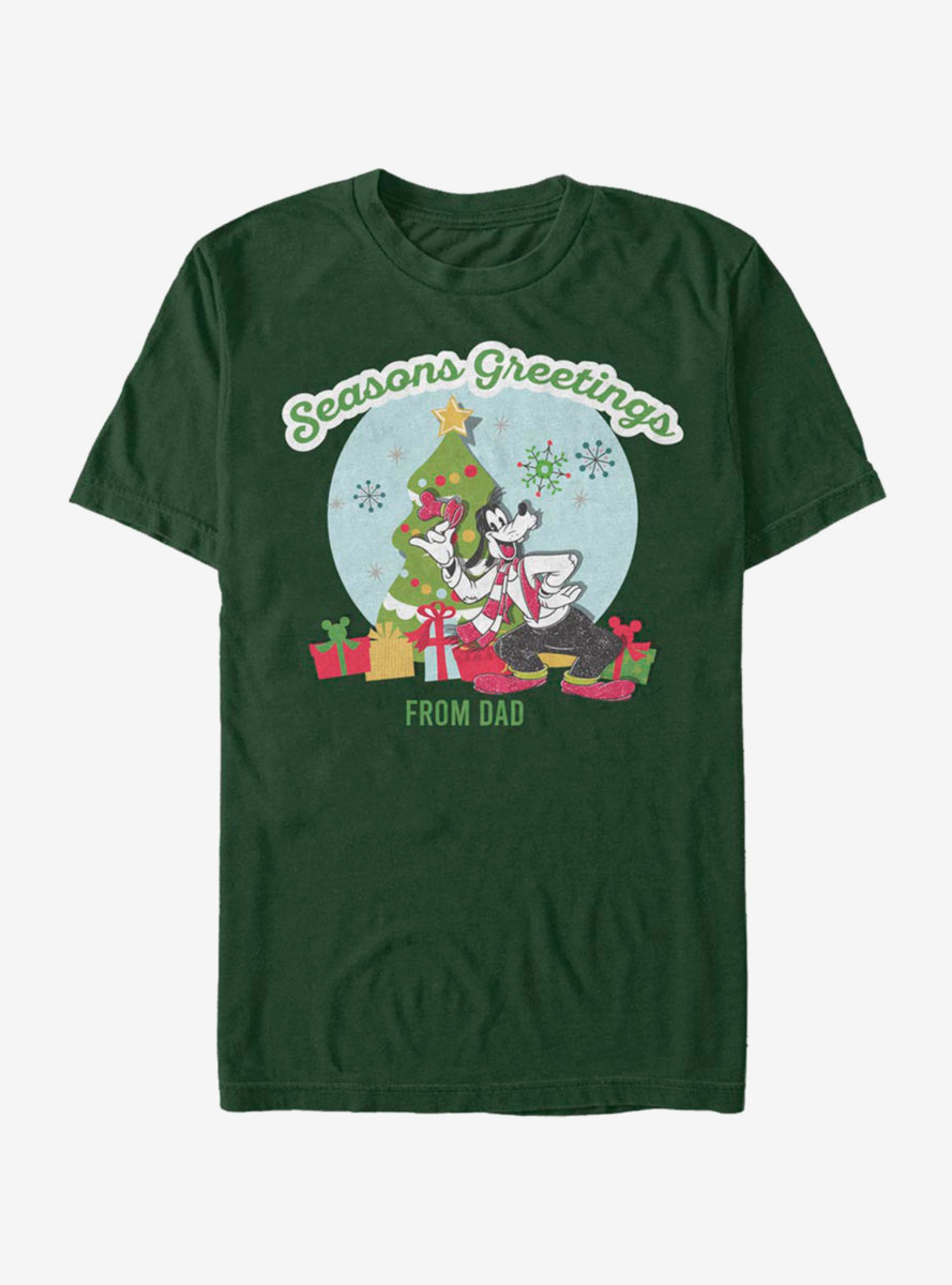Disney Mickey Mouse Greetings From Dad T-Shirt