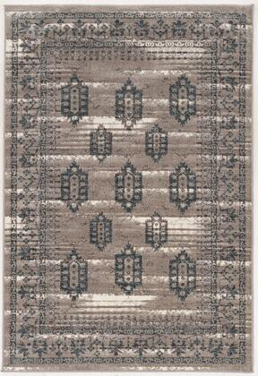 RUGVT1081 8 x 10 Rectangle Area Rug in