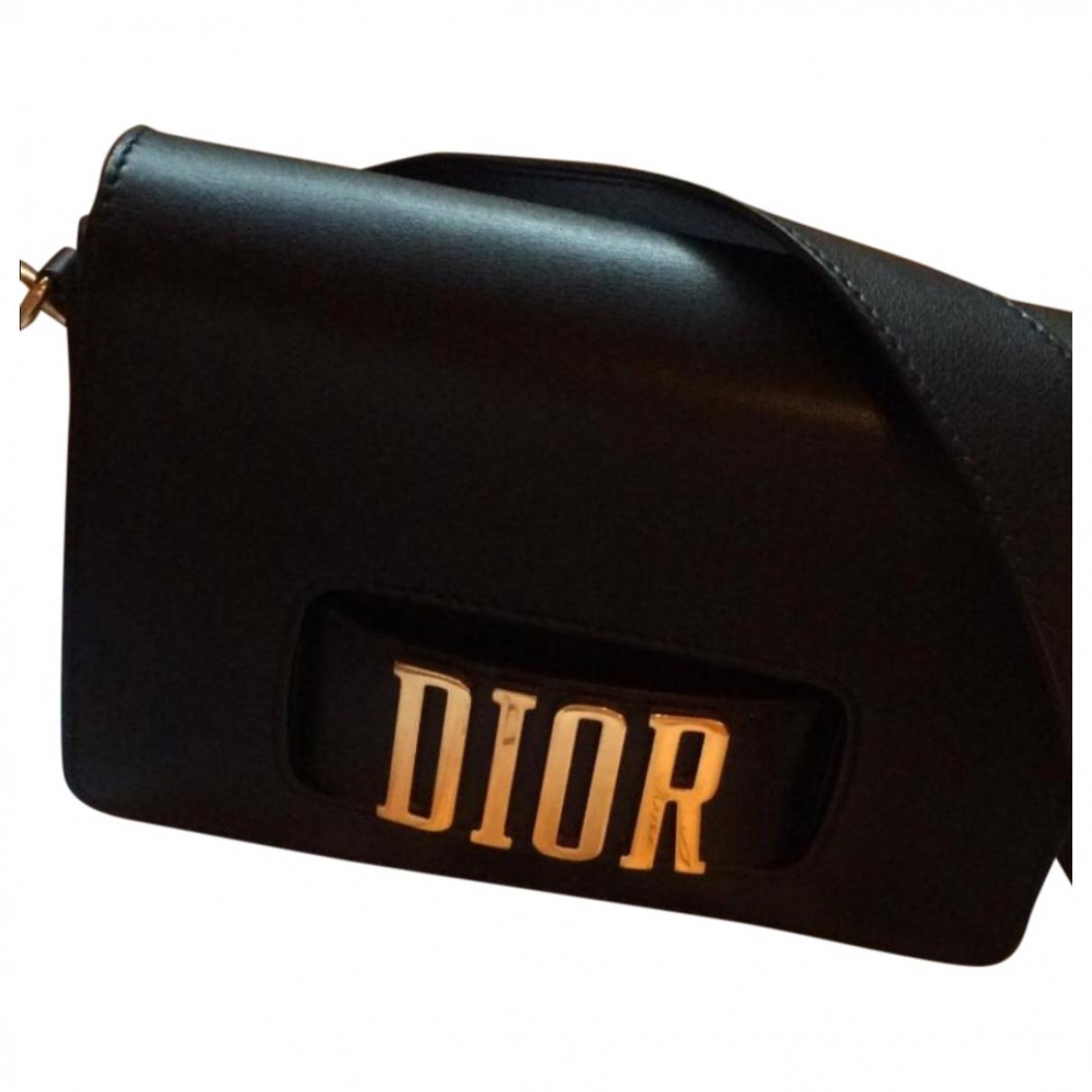 Dior Dio(r)evolution Handtasche in  Schwarz Leder