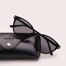 Rivet Decor Acrylic Frame Sunglasses