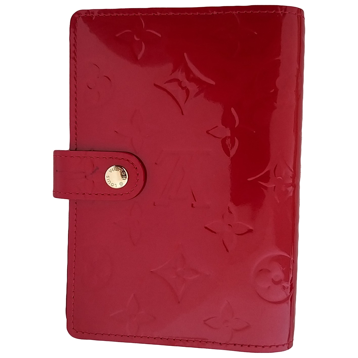 Louis Vuitton Couverture d'agenda PM Red Leather Home decor for Life & Living \N