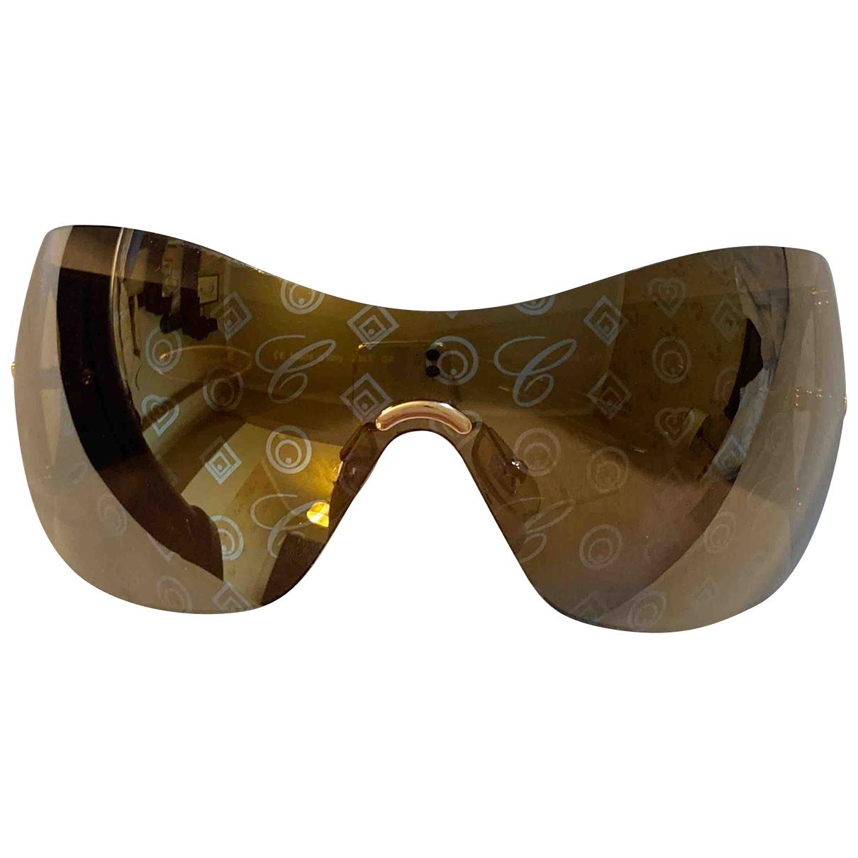 Chopard \N Sonnenbrillen in  Gold Kunststoff