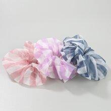 3 Stuecke Haarband mit Streifen Muster