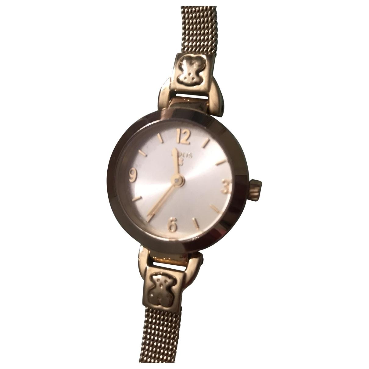 Atelier Tous \N Gold Steel watch for Women \N