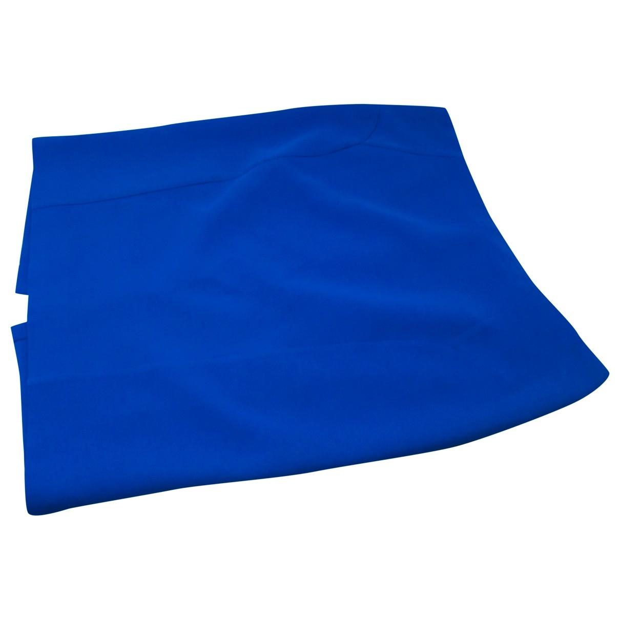 Versace - Jupe   pour femme en coton - bleu