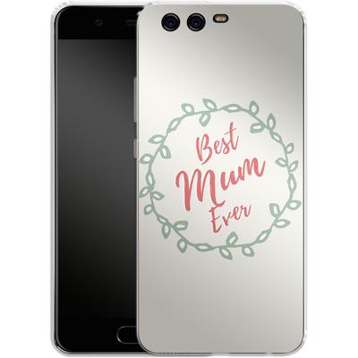 Huawei P10 Silikon Handyhuelle - Best Mum Ever von caseable Designs