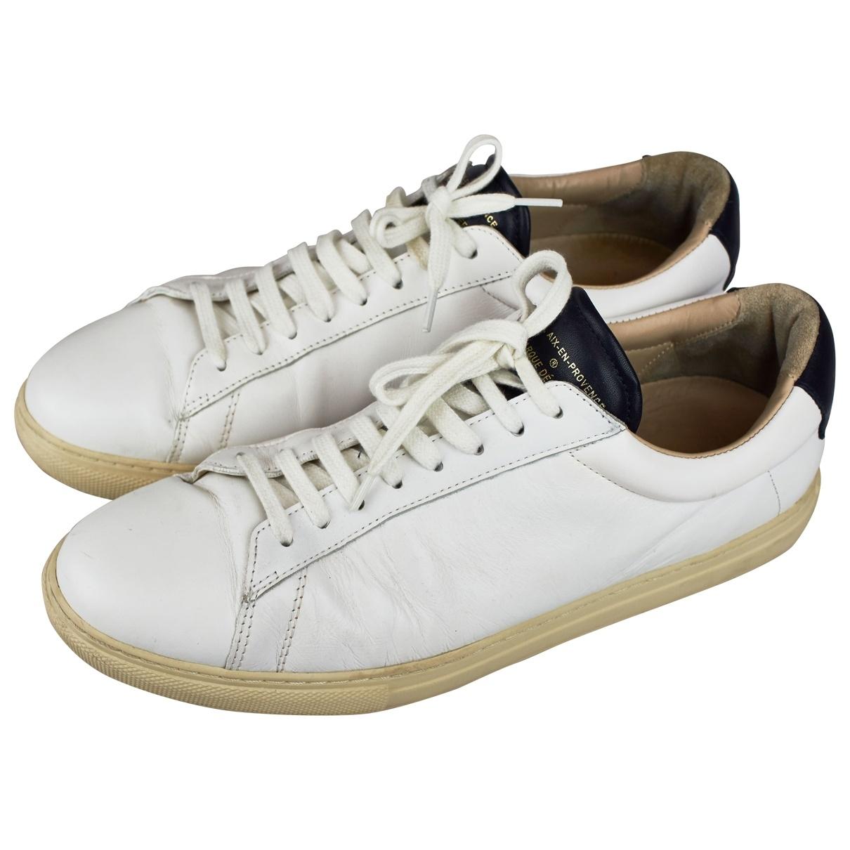 Zespa - Baskets   pour homme en cuir - blanc
