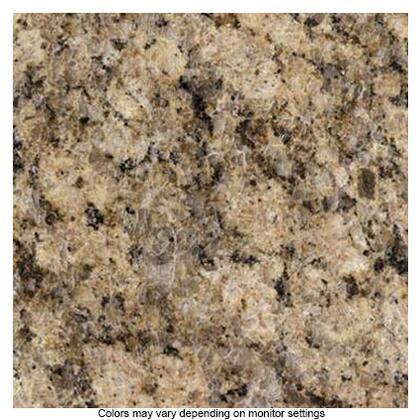 50108GVG Entertainment Q Granite Countertop Upgrade: Giallo