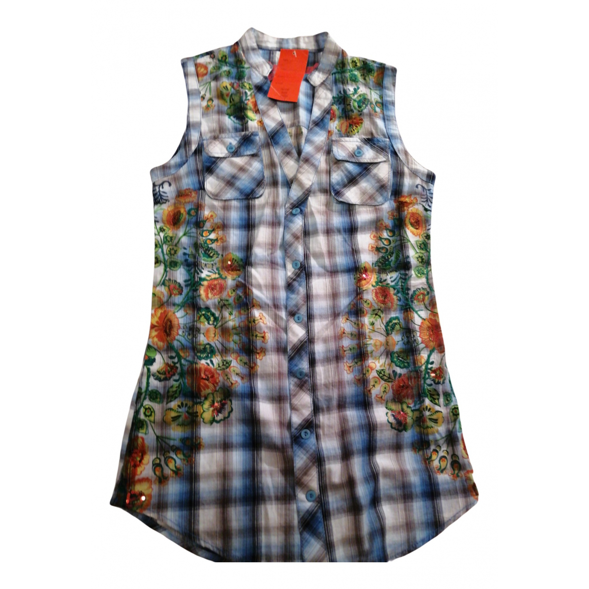 Desigual - Robe   pour femme en coton