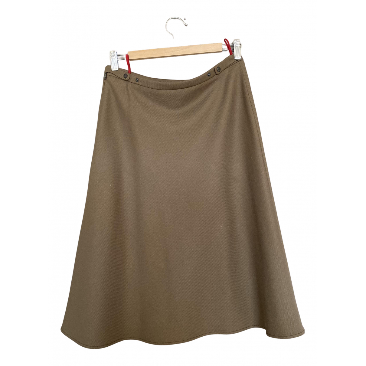 Prada \N Khaki Wool skirt for Women 10 UK