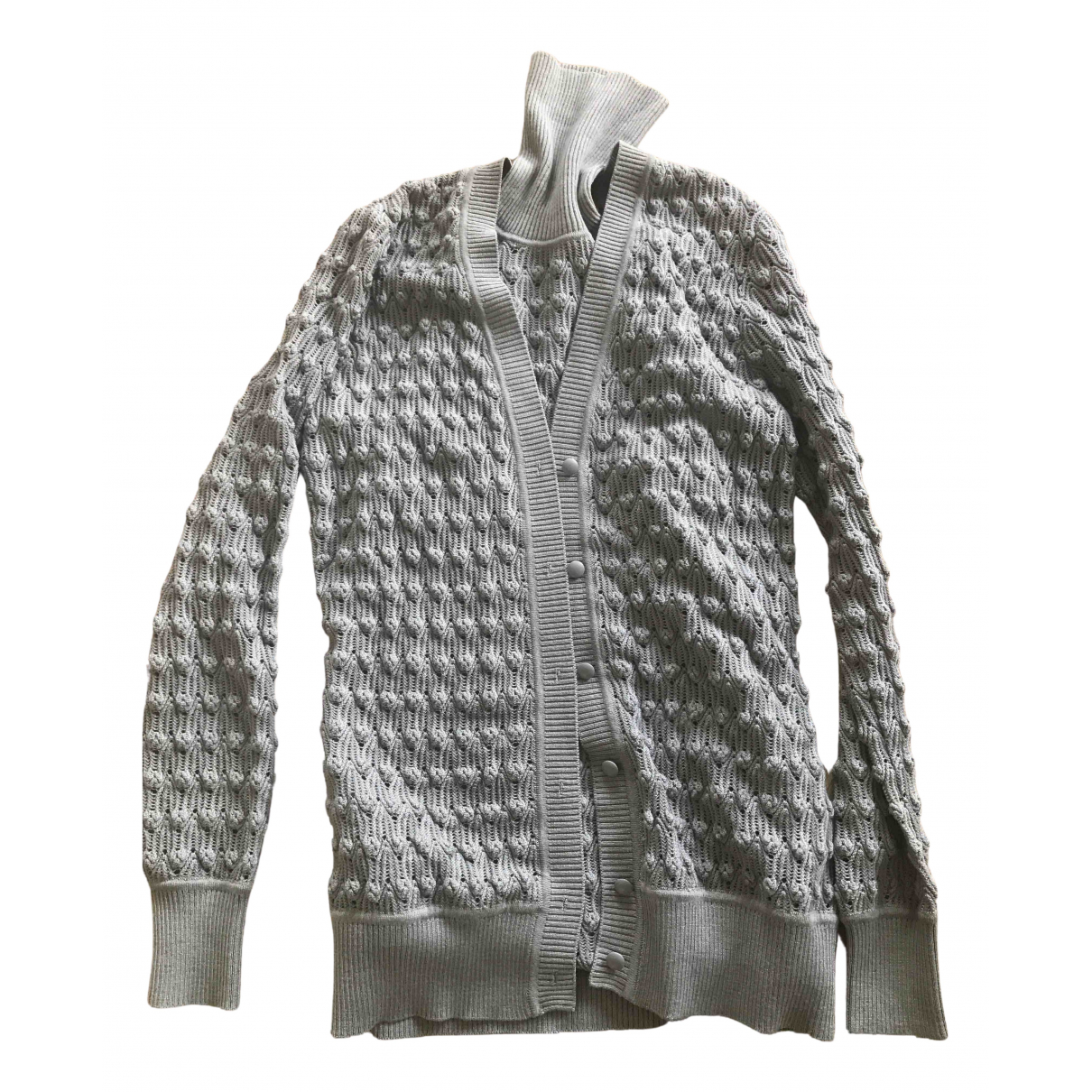 Missoni N Grey Wool Knitwear for Women 38 IT