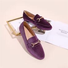 Loafers mit Trense Dekor