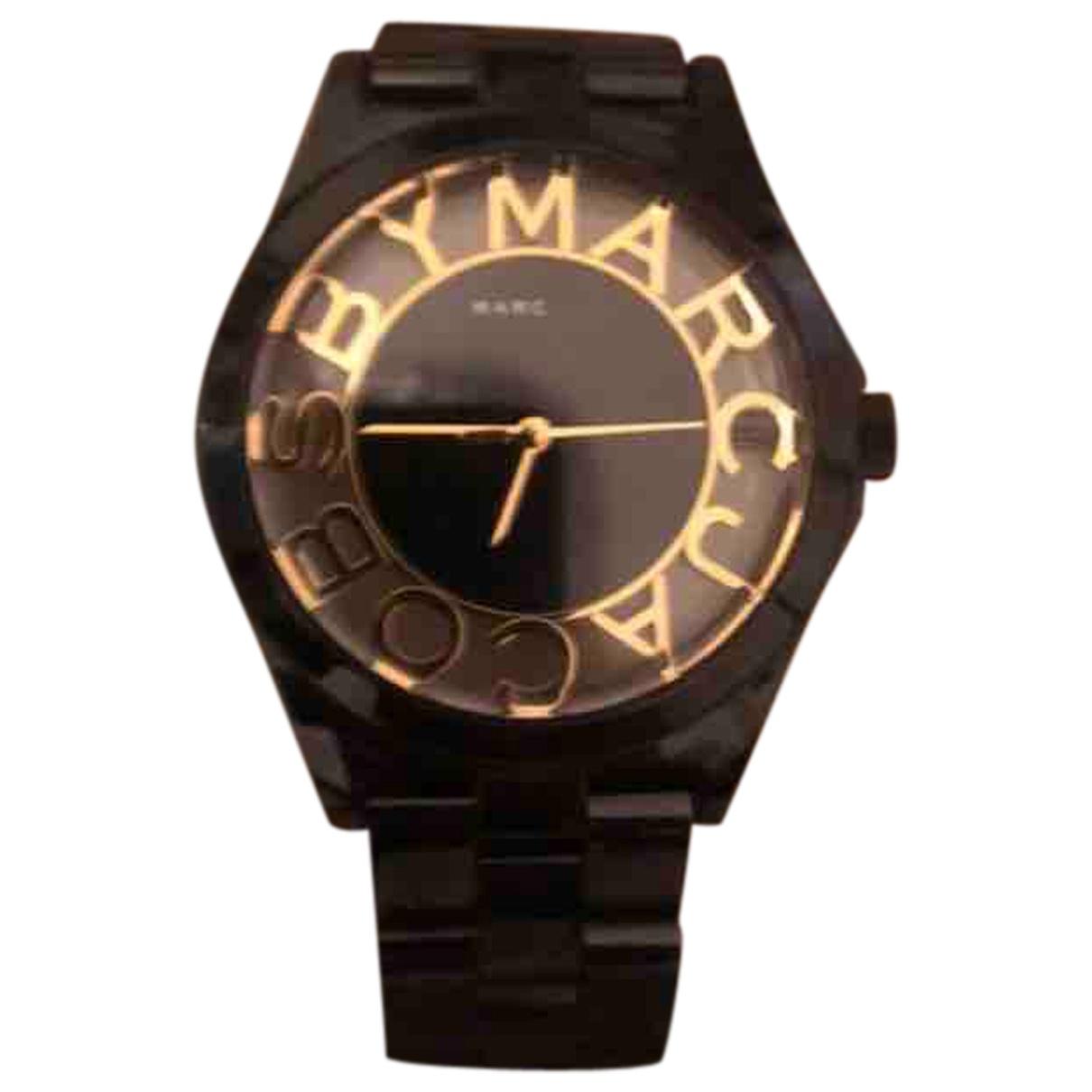 Marc By Marc Jacobs - Montre   pour femme en acier - noir