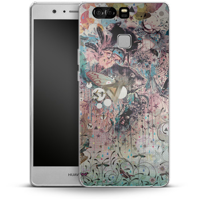 Huawei P9 Silikon Handyhuelle - The Great Forage von Mat Miller