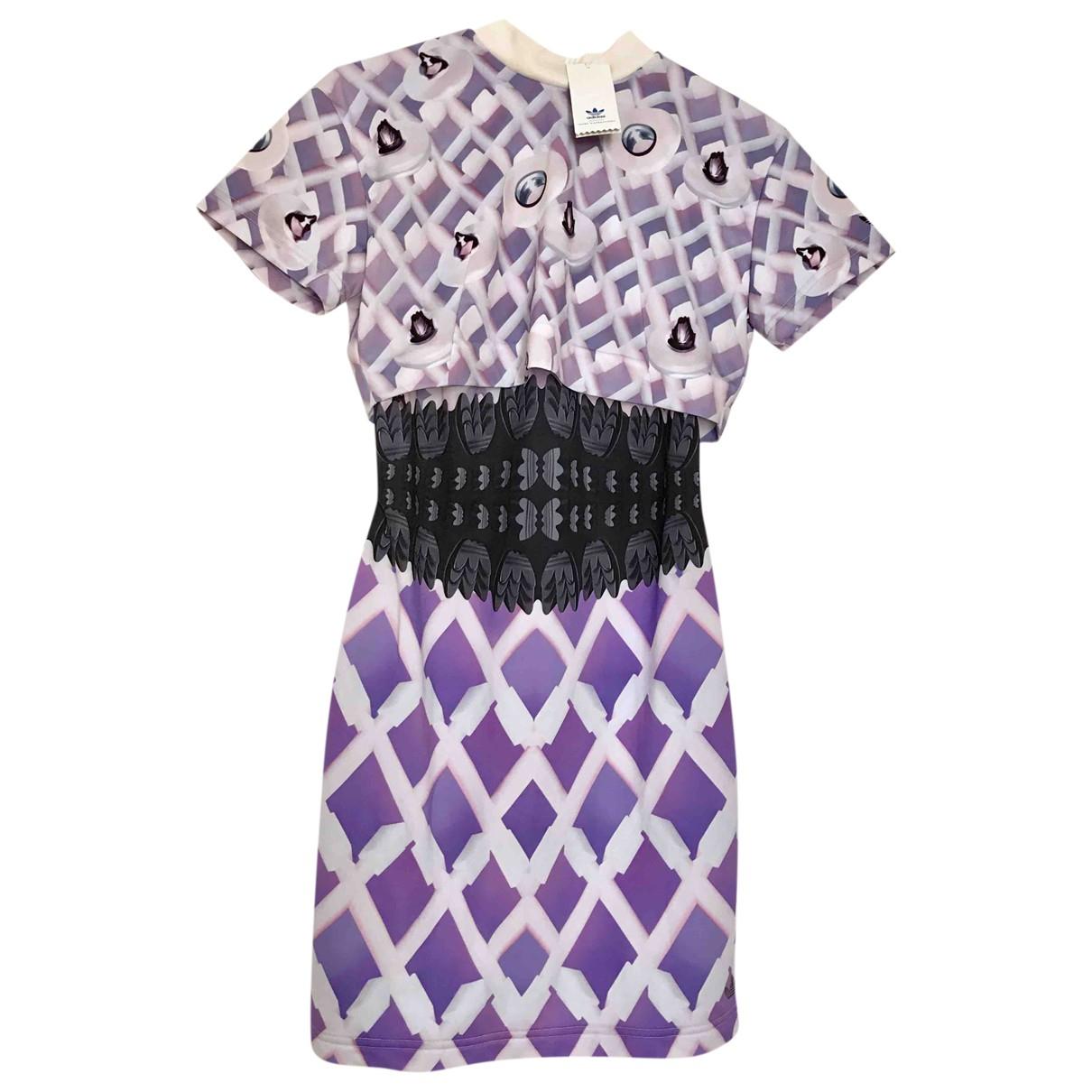 Mary Katrantzou For Adidas - Robe   pour femme - violet
