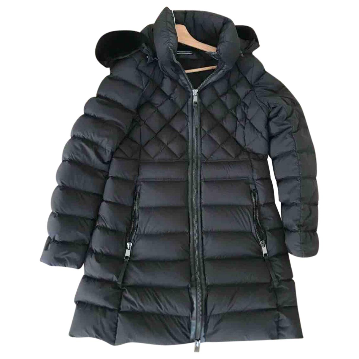 Tommy Hilfiger \N Black Faux fur coat for Women L International