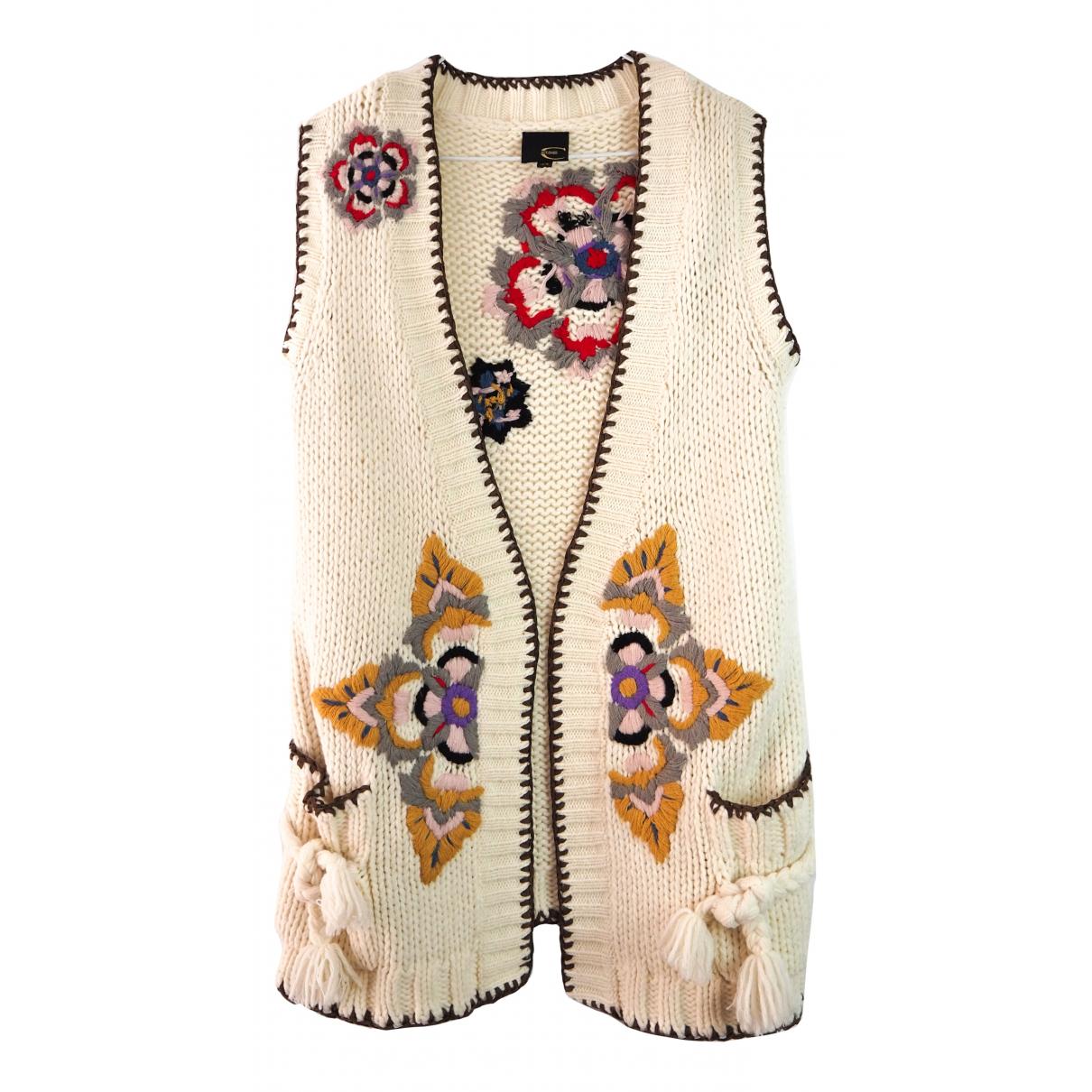 Just Cavalli - Pull   pour femme en laine - beige