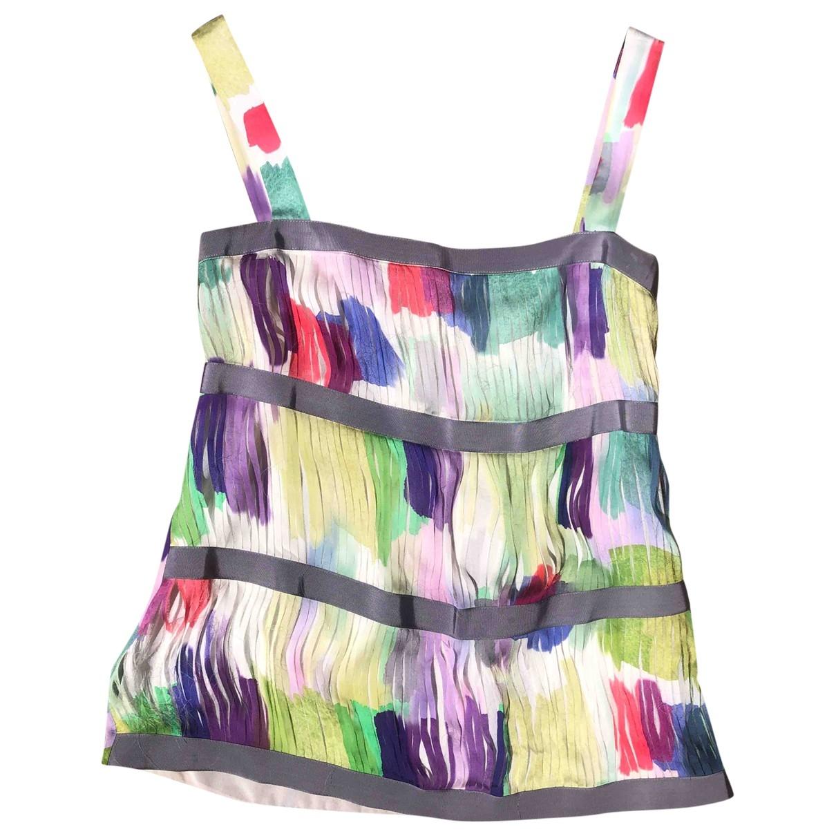 Emporio Armani \N Multicolour Silk  top for Women 38 IT