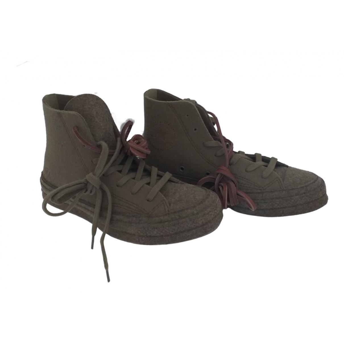 Converse X J.w Anderson \N Khaki Cloth Trainers for Women 38 EU
