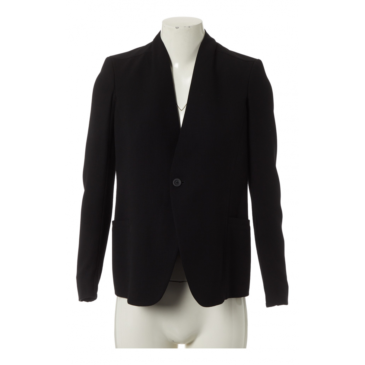 Rick Owens N Black Wool jacket for Women 42 IT
