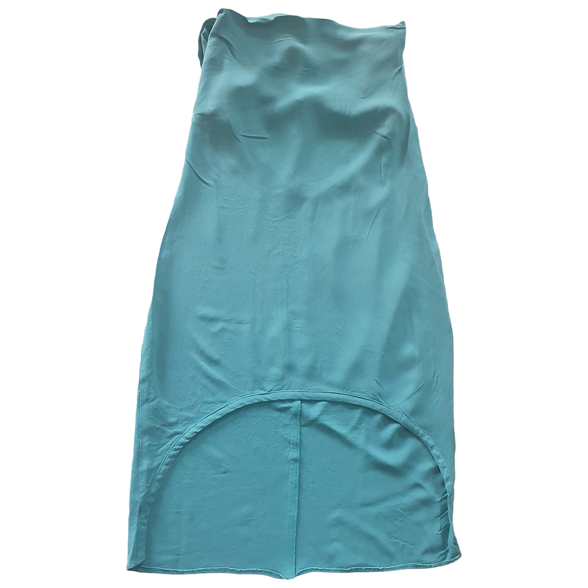 Patrizia Pepe \N Kleid in  Gruen Polyester