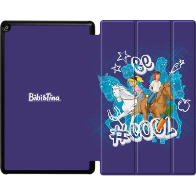Amazon Fire HD 10 (2018) Tablet Smart Case - Bibi und Tina Be Cool von Bibi & Tina