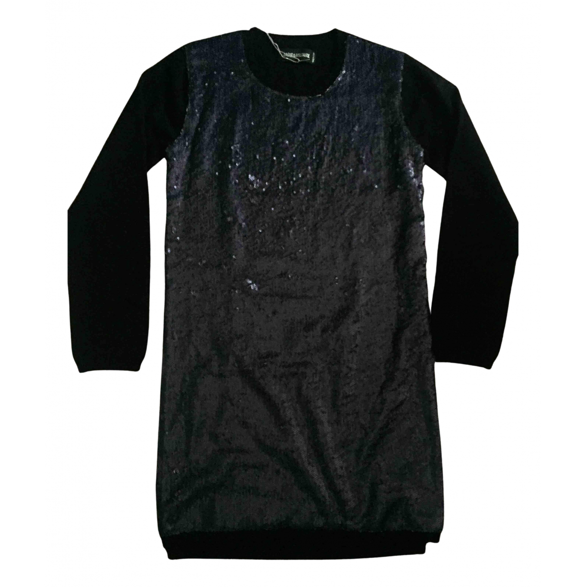 Zadig & Voltaire N Black Wool Knitwear for Kids 10 years - up to 142cm FR