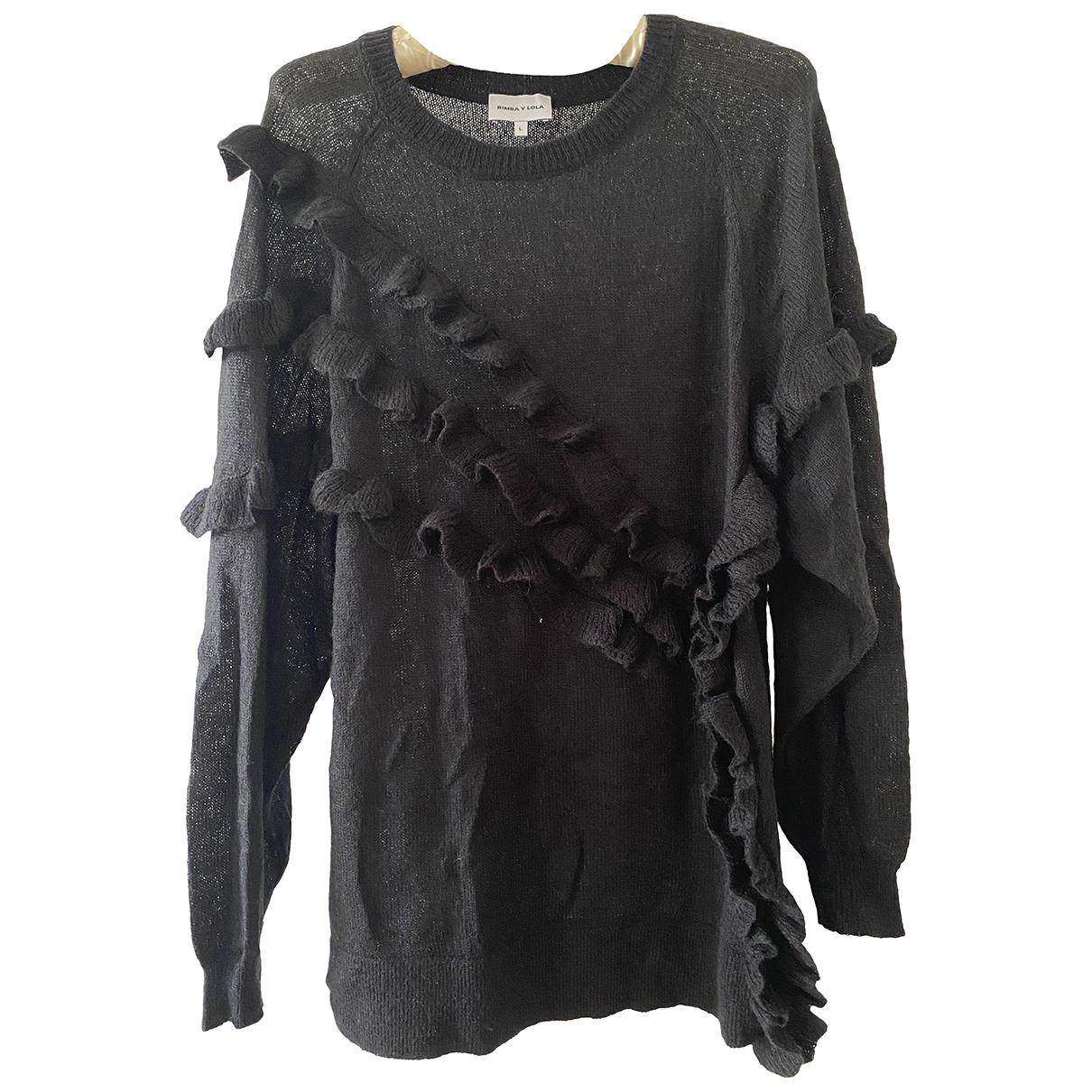 Bimba Y Lola N Black Wool Knitwear for Women L International